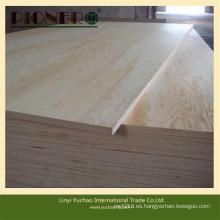 Contrachapado de pino E1 E2 Glue Furniture Grade Furniture con precio bajo