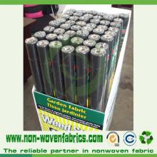 Tecido não-tecido anti-UV favorável para culturas de cobertura