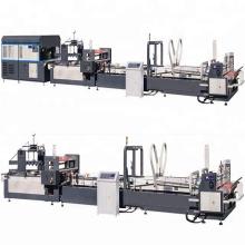 automatic corrugated carton box folder gluer machine