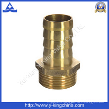 Male Thread Brass Pipe Fitting for Hose Barb Connector (YD-6037)