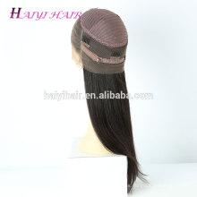 La peluca india del pelo humano alineó la peluca llena del cordón de la peluca de 360 pelucas