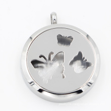 Hot Selling 316L Stainless Steel Oil Diffuser Locket for Necklace Pendant