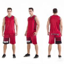 nouveau design maillot de basket-ball oem personnalisé en gros maillage uniforme de basket-ball
