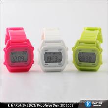 TPU plastic sport watch digital for teenager