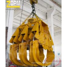 Gancho agarrador de madera hidráulico eléctrico