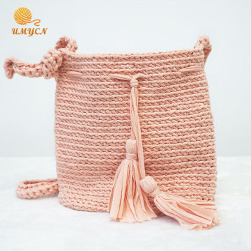 Tassel Crochet Ladies Single-Shoulder Bag