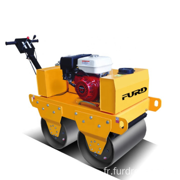 Mini vibrating roller hydraulic road roller capacity smooth wheel roller for sale FYL-S600