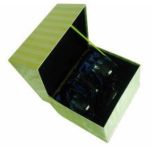 Коробка подарка ювелирных изделий с галстуком и вставить