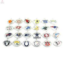 En gros de haute qualité personnalisé fait 32 équipes nfl charmes bijoux