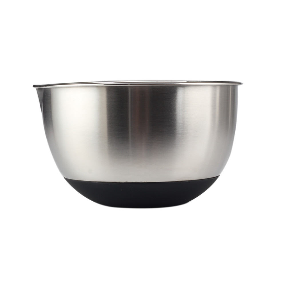 Anti Slip Mixing Bowl With Silicone Bottom