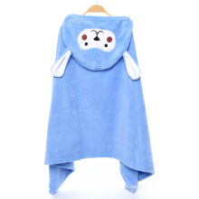 100% Cotton Soft and Cute Animal Aliphant Baby Towel with Hooded Towel
