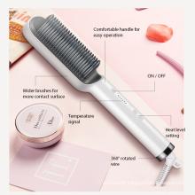 heat electric permanent hair straightening comb
