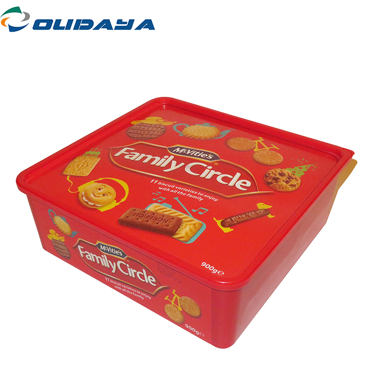 Cracker Container With Customized Printing