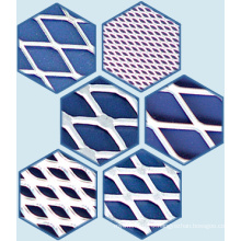 Filter Material, Expanded Aluminum Mesh