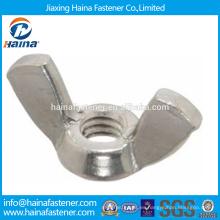 China Proveedor En existencia Proveedor chino DIN315 Tuerca de mariposa de acero inoxidable / tuerca de mariposa.