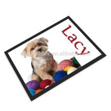 bowl place dog mat, microfiber dog mat