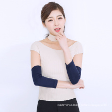 new design high quality cashmere sleeve protector elbow support