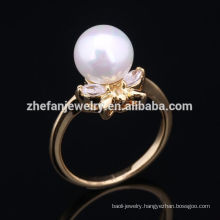 hot sale high quality pearl beaded napkin ring