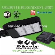Outdoor Pole Mounted 150W LED Parking Lot Shoebox Light with UL DLC