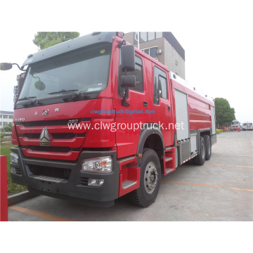 Howo 4x2 emergency rescue fire truck