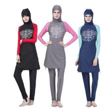 Quality assurance islamic clothing swimsuit women muslim swimwear swimsuit