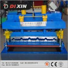 Alibaba Roofing Galvanized Corrugated Steel Sheet Tile Making Machine Color Steel Roll Forming Machine