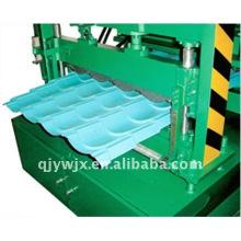 QJ automático cnc 28-207-828 teja fría rollo que forma la máquina