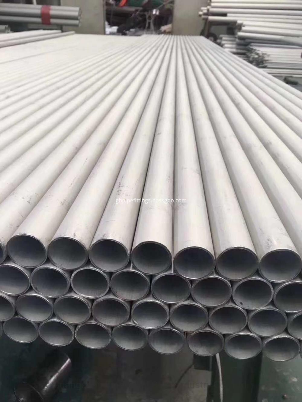 Astm B444 Uns N06625 Seamless Nickel Alloy Steel Tube Pipe Jpg