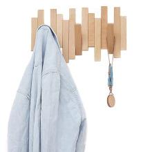 Складной деревянный крючок в стиле творчества разного размера