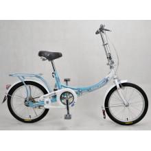 Bicicleta plegable de la ciudad hermosa bicicleta
