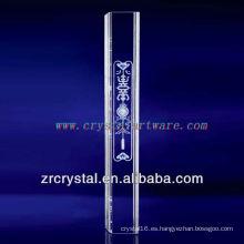 pilar de cristal de decoración