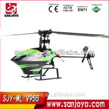 """Mini 2.4G """" Flybarless """" remote control helicopter rc toys china V955 4ch with gyro flybarless helicopter"""