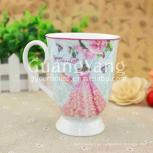 Taza de cerámica profesional de la taza de la producción profesional de la producción