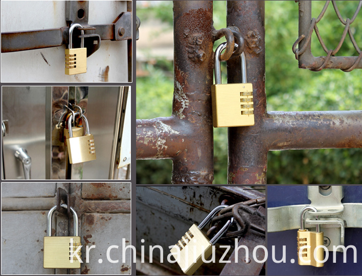 Widely Use of Brass Combination Lock