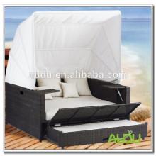 Audu Seaside Hotel Rattan Cama de piscina al aire libre