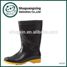 Protector de lluvia combate de moda de hombre botas media lluvia zapato cubiertas A-910