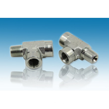 Parker Eaqual Hydraulic Fitting Carbon Stahl T-Stück