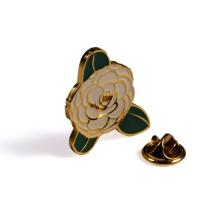 Professional manufacturer custom metal soft enamel holiday celebration uniform badge lapel pin