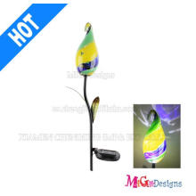 Top Sale Glass Solar Powered Garden Lights Stake