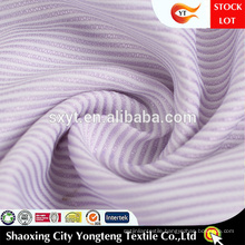 Soft Hand Feeling Classical Stripe Design Shirting Fabric