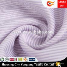 Soft Hand Feeling Classical Stripe Design Shirting Fabric