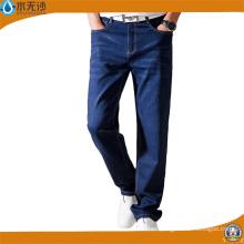 Los nuevos hombres de diseño Skinny Denim Pants Stretch Blue Cotton Jeans