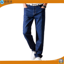 New Design Homens Skinny Denim Calças Stretch Blue Cotton Jeans