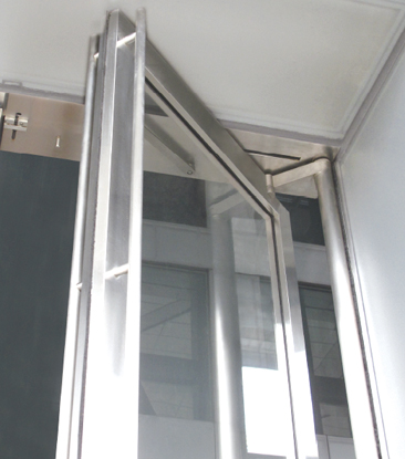 Ningbo GDoor Household Balance Doors with Aluminum Alloy