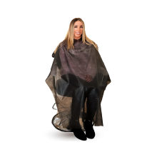 Non-Woven Salon Apron Hair Cutting Personal Protection Capes