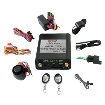 GPS/GSM/GPRS Tracking System with SIM Card, Remote Car Starter and Free Online Platform Tk220-Ez