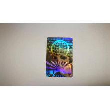 High security anti-counterfeiting design 3D hologram sticker