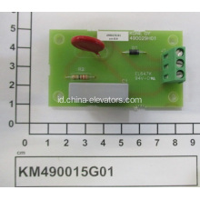Angkat KONE RC Filter Board KM490015G01