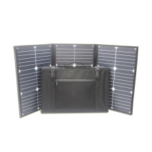 60W 18V sunpower folding portable flexible panneau solaire