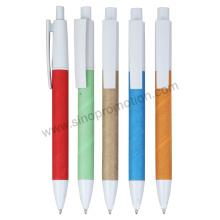 Ponto de bola papel promocionais canetas (YM066)